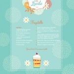 Grand-maman Lucile's Bagatelle | Spoonflower Tea Towel contest