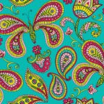 Butterfly Paisley | Butterfly Collection | Available on spoonflower.com