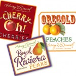Harry & David | Fruit crate labels