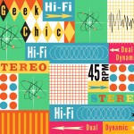 Retro Geek Chic | Spoonflower Robert Kaufman Contest