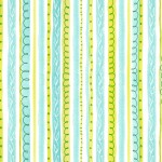 Seaweed Stripes | Sea Garden Collection | Fabric8 finalist